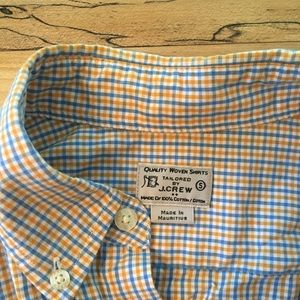 J. Crew Shirts - J Crew Woven Shirt - Plaid Button Down